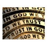 In God We Trust Postcards