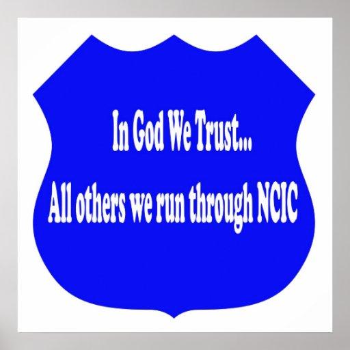 In God We Trust Print