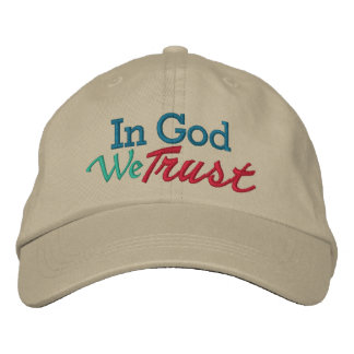 IN GOD We Trust - Wear it with Pride Embroidered Baseball Hat