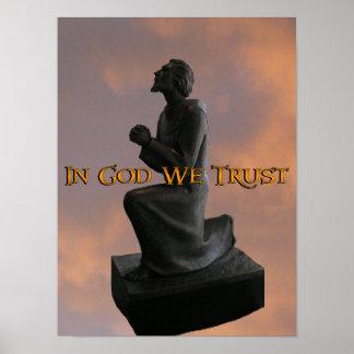 In God We Trust (windlass) Poster