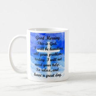 In God's Hands Coffee Mug