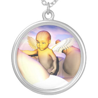 In God's Hands  Loving memory Of Khaiden Nechlace Silver Plated Necklace