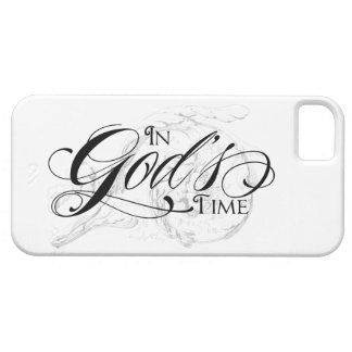 In God's Time iPhone 5 Cover
