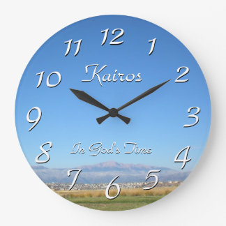 In God's Time Pikes Peak Kairos Wall Clock