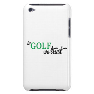 In Golf we trust Barely There iPod Hüllen