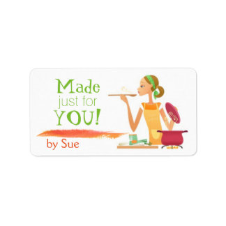 In Good Taste (Custom Food/Baking Labels) Address Label