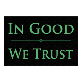 In Good We Trust Poster