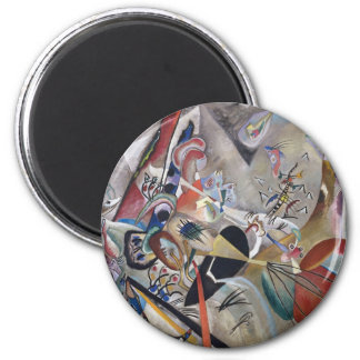 In Gray 2 Inch Round Magnet
