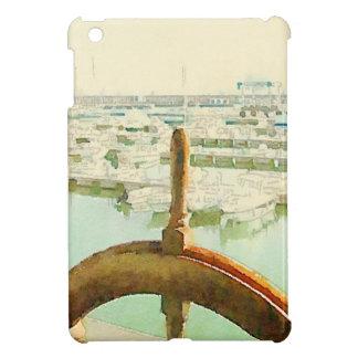 in harbor, watercolor iPad mini covers