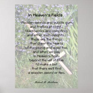 In Heaven's Fields Print
