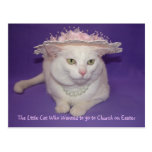 In her Easter Bonnet Post Card