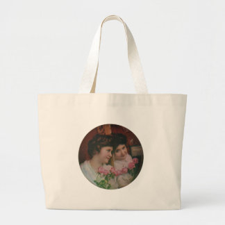 In Her Mirror Tote Bags