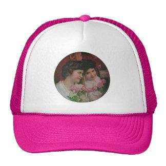 In Her Mirror Mesh Hats