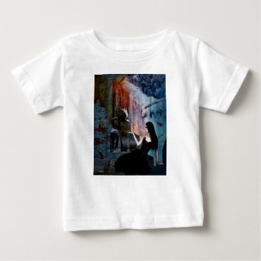 Halloween Themed IN HER SHADOW KINGDOM BABY T-Shirt