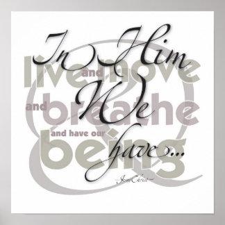 In Him Print