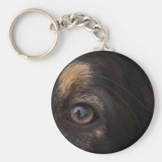 In His Eyes Keychain
