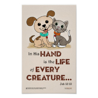In his hand ... (BowWow & MeeYow) Poster