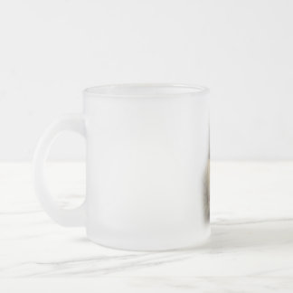 In His Hands Frosted 10 oz Frosted Glass Mug