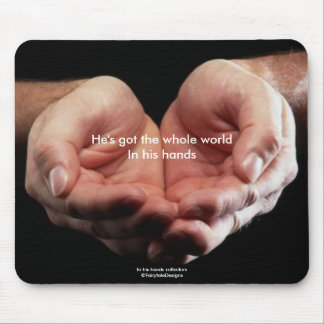 In his hands Mousepad Mouse Pad