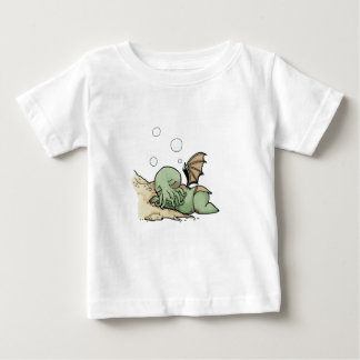 In his house at R'lyeh dead Cthulhu waits dreaming Baby T-Shirt