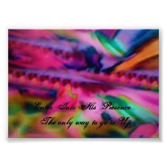 In His Presence Angels Heaven Greeting Card Photo Print