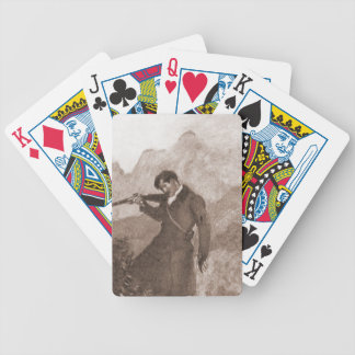 In His Sights Bicycle Playing Cards