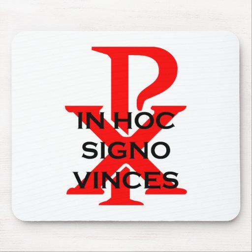 In Hoc Signo Vinces Mouse Pad