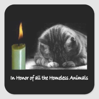 In Honor Animal Rescue Stickers