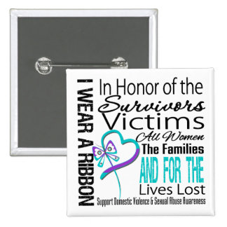In Honor Collage Domestic Violence Sexual Assault Button