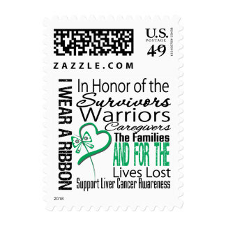 In Honor Collage Liver Cancer Stamps