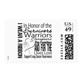 In Honor Collage Lung Cancer Stamp