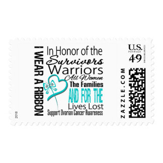 In Honor Collage Ovarian Cancer Stamps