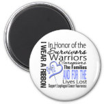 In Honor Collage Tribute Esophageal Cancer Fridge Magnet