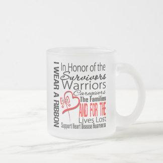 In Honor Collage Tribute Heart Disease Mugs