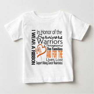 In Honor Collage Tribute Kidney Cancer Tee Shirt