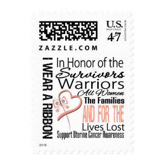 In Honor Collage Uterine Cancer Postage