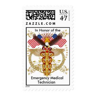 In Honor EMT Emergency Medical Technician Postage