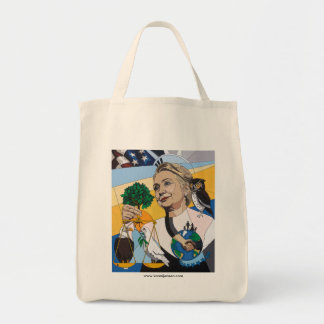 In honor of Hillary Clinton Canvas Bags