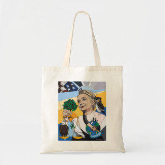 In honor of Hillary Clinton tote Tote Bag