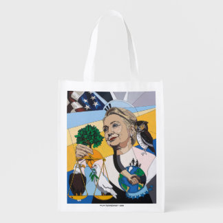In honor of Hillary Clinton Grocery Bags