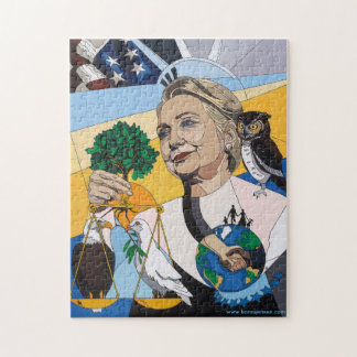 In Honor of Hillary Jigsaw Puzzle