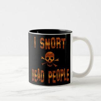 In Honor of Keith Richards Two-Tone Coffee Mug