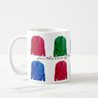 in honor of Mister Rogers - cardigan sweaters Coffee Mug