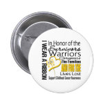 In Honor Tribute Collage Childhood Cancer Button