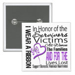In Honor Tribute Collage Domestic Violence Buttons