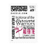 In Honor Tribute Collage Head and Neck Cancer Stamp