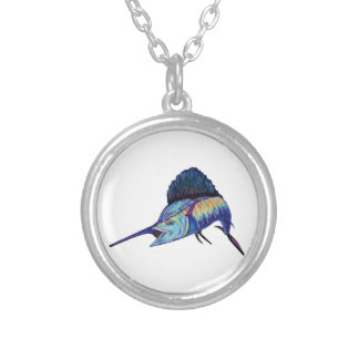 IN HOT PURSUIT SILVER PLATED NECKLACE