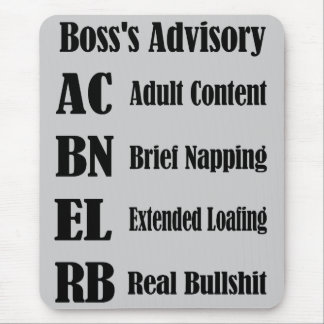 In House Vacation Mouse Pad