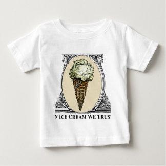 In Ice Crean We Trust Baby T-Shirt