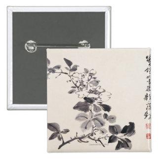In Imitation of Xu Wei�s Flowers No.5 Button